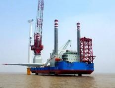 三峡新能源江苏大丰海上风电项目全部机组并网发电