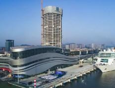 全国规模最大的邮轮母港开港运营 中交集团投资建设