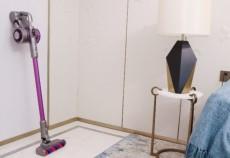 高效洁尘,吉米上手把吸尘器超大吸力轻松吸尘