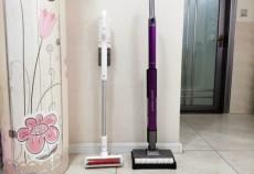 吉米一洗净无线洗地机:双滚刷快速去污,比拖把反复擦洗更轻松