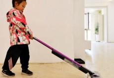 吉米一洗净无线洗地机双滚刷设计省时又省力,高效清洁地面更轻松