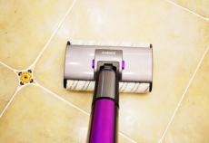 吉米一洗净无线洗地机前擦、后抛,让精致生活从轻松洁净地面开始