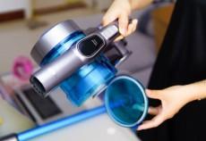 吉米上手把吸尘器一机多用高效率,轻便吸尘体感舒适更省力