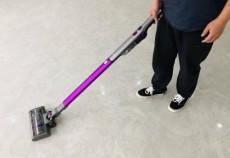 吉米小轻杆P7轻巧便捷无线吸尘器,做老人家居清洁的巧帮手